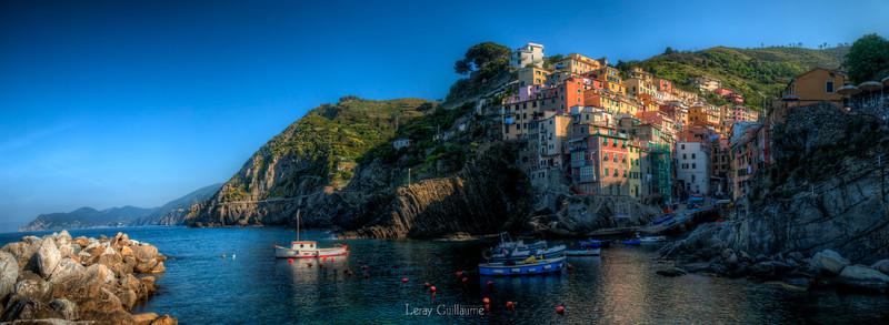 Panoramica Riomaggiore-Cinque Terre-Liguria